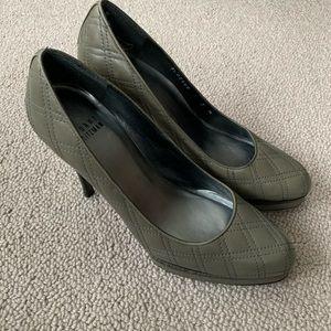 Grey Stuart Weitzman shoes
